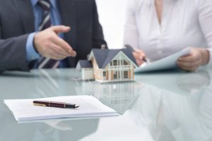 a buyer getting preapproved for a mortgage with a lender