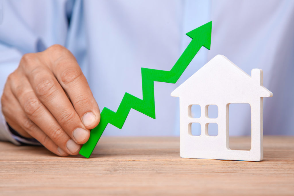 Increasing home values